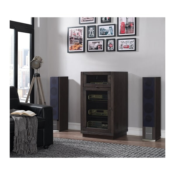 Shop Coltrane Av Component Cabinet With Lift Top For