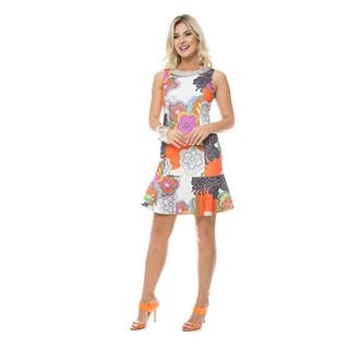 Sara Boo Women's Woodstock Embellished Dress|https://ak1.ostkcdn.com/images/products/15210449/P21687107.jpg?impolicy=medium