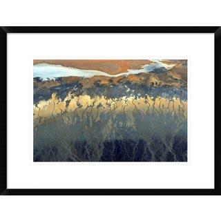 Global Gallery, Tanja Ghirardini 'California Aerial' Framed Giclee Print
