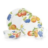 Pfaltzgraff Fruit 16-Piece Dinnerware Set