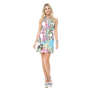 Sara Boo Tropical Multicolored Dress