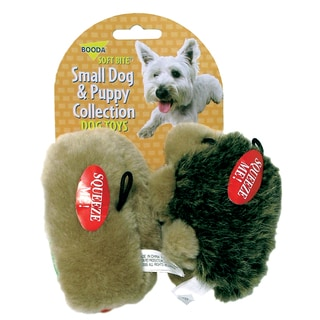 Booda Small Hedgehog & Hotdog Dog & Puppy Toy