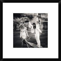 Global Gallery, Kurt Klein 'North Las Vegas' Framed Giclee Print