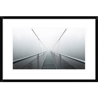 Global Gallery, Max Zimmermann 'The Path To Infinity' Framed Giclee Print