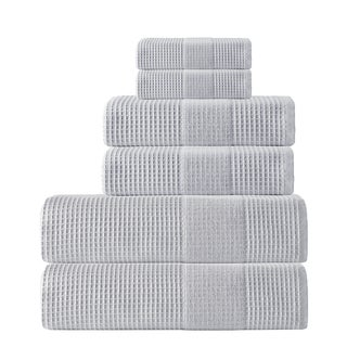 Enchante Home Ria 6-Piece Turkish Cotton Towel Set
