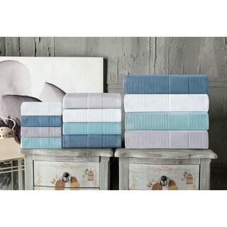 Enchante Home Ria 6-Piece Turkish Cotton Towel Set (Option: Silver)