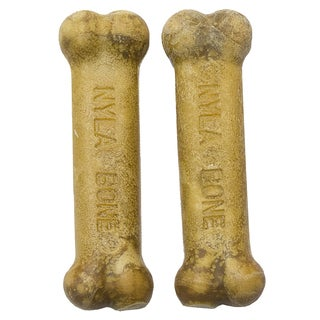 Nylabone Extra Small Roast Beef Daily Health Dog Bones 2 Count