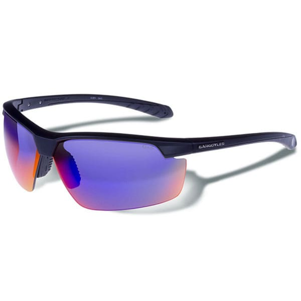 Gargoyles Stakeout Sunglasses Matte Blk/Smoke/Plasma Mirror
