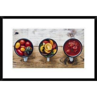 Global Gallery, Aleksandrova Karina 'Foodprocess #2 Homemade Tomato Sauce' Framed Giclee Print