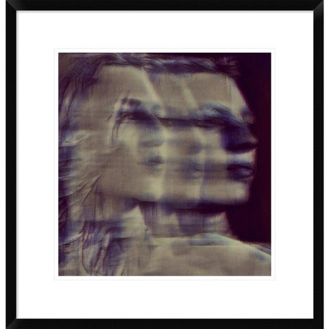 Global Gallery, Dalibor Davidovic 'A Quiet Darkness (shadows)' Framed Giclee Print