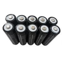 Black Universal 18650 6000mah 3.7v Li-ion Rechargeable Battery (Box of 10)