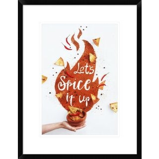Global Gallery, Dina Belenko 'Spice It Up!' Framed Giclee Print