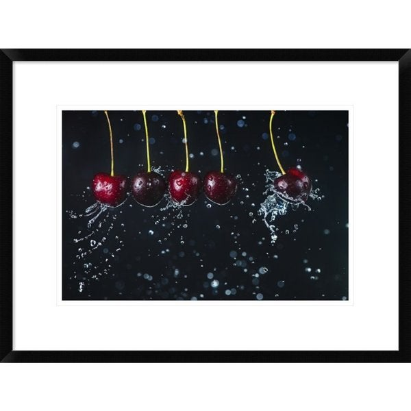 Global Gallery, Dina Belenko 'Newton's Cradle' Framed Giclee Print