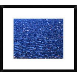 Global Gallery, Shu-Guang Yang 'Dwelling' Framed Giclee Print