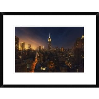 Global Gallery, David Martin Castan 'Untitled' Framed Giclee Print