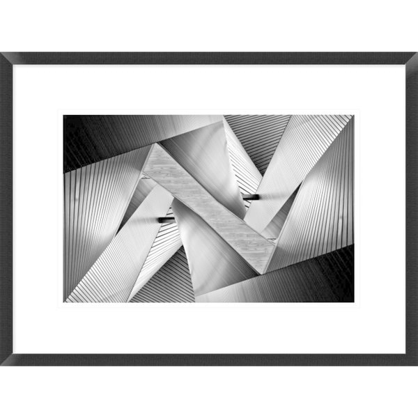 Global Gallery, Koji Tajima 'Metal Origami' Framed Giclee Print