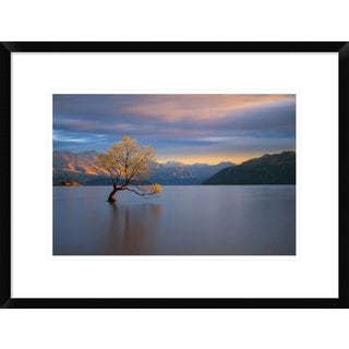 Global Gallery, Renee Doyle 'Morning Glow' Framed Giclee Print