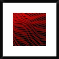 Global Gallery, Gilbert Claes 'Woven Wave' Framed Giclee Print