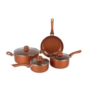 Brentwood 7 Pc. Copper Cookware Set