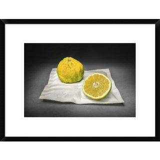 Global Gallery, Christophe Verot 'Citrus' Framed Giclee Print