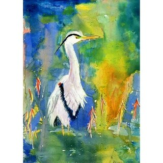 D&B's Blue Heron Outdoor Wall Hanging 24x30
