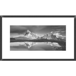 Global Gallery, Lubos Balazovic 'Morning At Ra Gusela' Framed Giclee Print