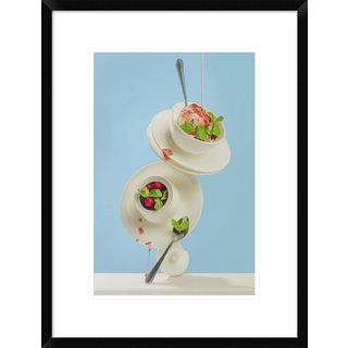 Global Gallery, Dina Belenko 'Cranberry Syrup' Framed Giclee Print