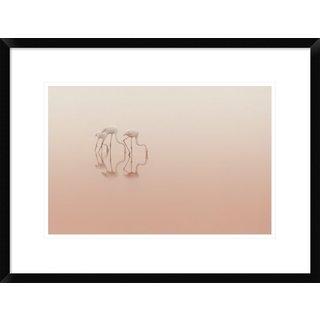 Global Gallery, Natalia Rublina 'Pink Silence' Framed Giclee Print