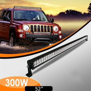 300W Curved LED Light Bar For SUV 52-inch