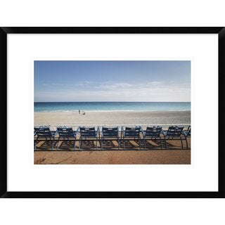 Global Gallery, Paco Palazon 'Sea Breeze' Framed Giclee Print