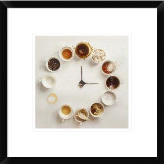Global Gallery, Dina Belenko 'It's Always Coffee Time' Framed Giclee Print