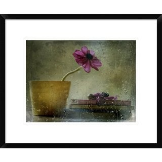Global Gallery, Delphine Devos 'A Day To Stay At Home' Framed Giclee Print