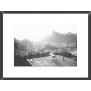 Global Gallery, Marco Virgone 'Rio' Framed Giclee Print
