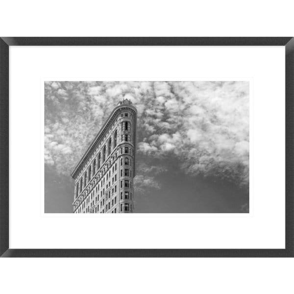 Shop Global Gallery, Francesco Santini \'Nyc, Flatiron\' Framed Giclee ...