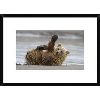 Global Gallery, Alfred Forns 'High Five' Framed Giclee Print