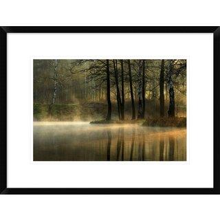 Global Gallery, Agnieszka Jankowska 'Silent Light.' Framed Giclee Print