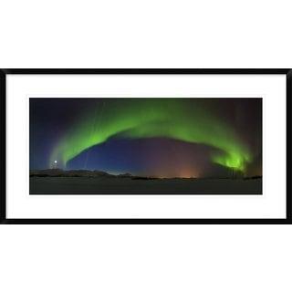 Global Gallery, Roy Samuelsen 'Northern Lights' Framed Giclee Print