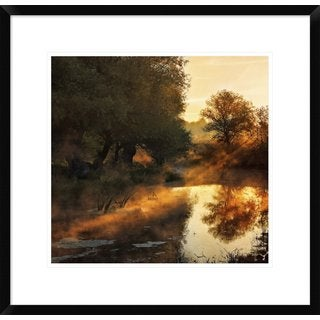 Global Gallery, Jimbi 'When Nature Paints With Light' Framed Giclee Print