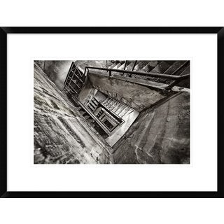 Global Gallery, Paul Boomsma 'Staircase' Framed Giclee Print