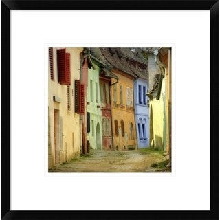 Global Gallery, S.C. 'Colors' Framed Giclee Print