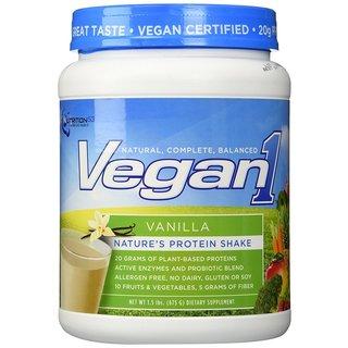 Nutrition 53 Vegan1 1.5-pound Protein Shake Vanilla