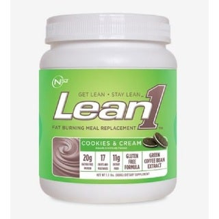 Nutrition 53 Lean1 Fat Burning 1.3-pound Meal Replacement Cookies & Cream