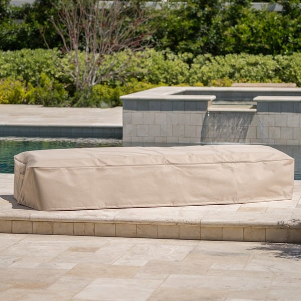 Ordinaire Shield Outdoor Waterproof Fabric Lounge Patio Cover By Christopher Knight  Home
