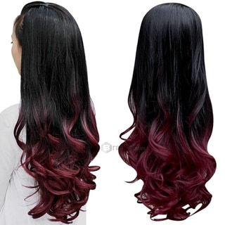 Long Wavy Heat-Resistant Synthetic Hair Wig