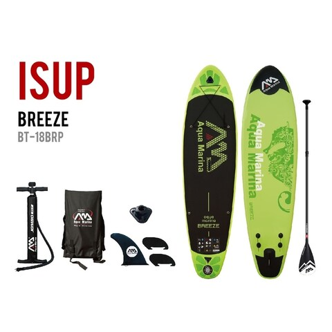 "Aqua Marina Breeze 9' 9"" Stand Up Paddle Board Inflatable SUP"