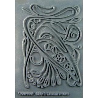 "Christi Friesen Texture Stamp 4.25""X5.5""-Nouveau"