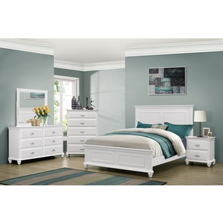 White Bedroom Sets Queen size queen white finish bedroom sets & collections - shop the best
