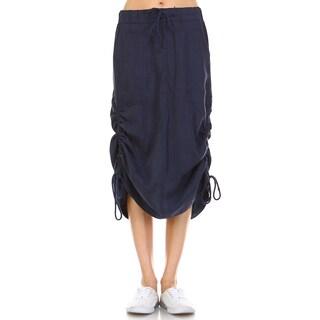 Morning Apple Women's Wilhelmina Side Drawstring Skirt