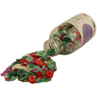 28 Lilac Lane Embellishment Bottle Kit-Yuletide Greetings