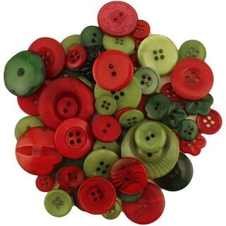 Buttons Galore Button Bonanza-Tis The Season